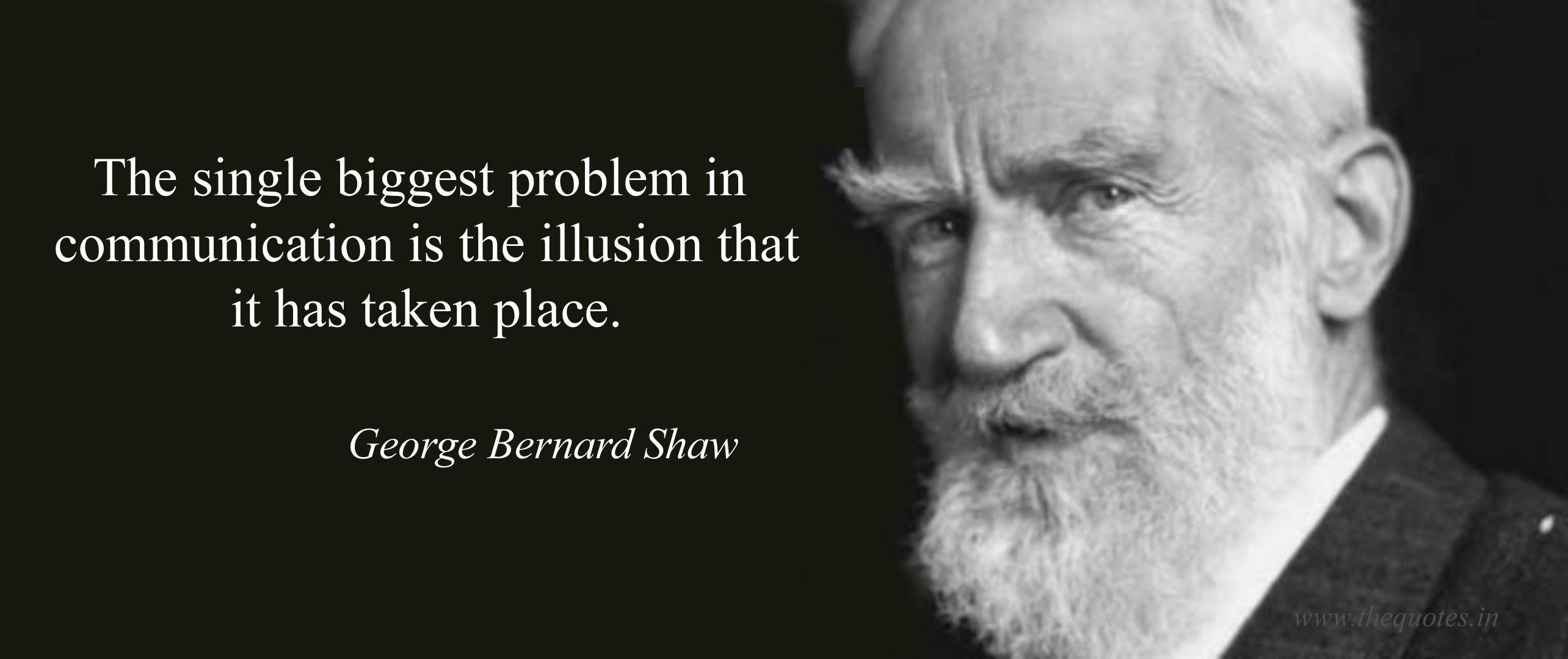 Z cyklu: aforyzmy - George Bernard Shaw